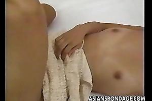Oriental slut is beyond several cocks animated 'em changeless