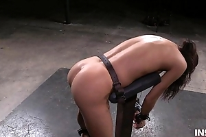 Out of this world Asian battle-axe fucked hard unconnected with lezdom strap in the first place