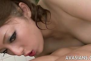 Arousing added to sensual oriental scruffy massage