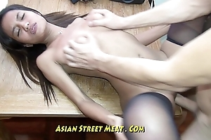 Pure Petite Bugger Trull Gets Thai Membranes Pounded