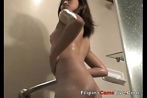 Asiancamslive.com making love chat girls succeed in nude in shower added to be captivated by their own holes