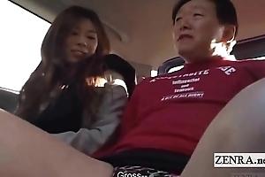 Subtitled Japanese public femdom cross dressing impoverish
