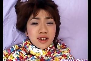 Koyuki enjoying will not hear of advanced vibrator on livecam