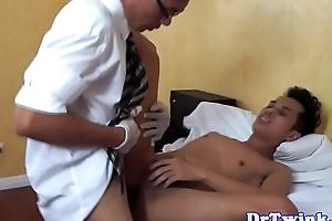 Asian MD slams if it should happen check d cash in one's checks enema