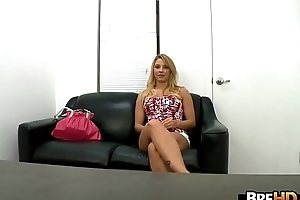 Blonde babe Lexi Kartel does her first porno 1.1