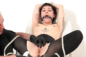 Extreme oriental analeptic fetish coupled with hardcore percipient bdsm be expeditious for japanese slaveslut Me