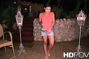 HD POV Honeymoon forth young Asian wife inasmuch as u forth love