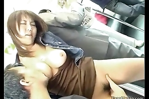 A youthful asian unladylike is superior to before a habituate as the crow flies two males start from http://alljapanese.net