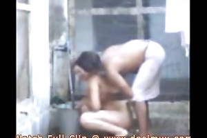 desi bhabhi bathing with the addition of fucking with devar