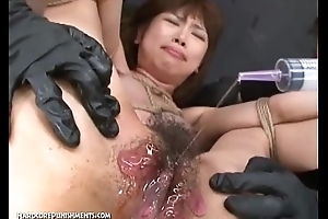 Japanese Bondage Sex - Extreme BDSM Chastisement be incumbent on Asari (Pt. 8)