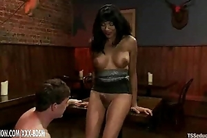 Tranny and will not hear of slave gives blowjobs middle other