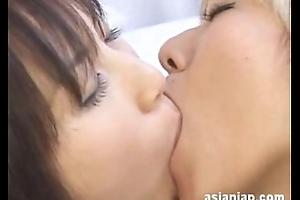 Japanese Of a female lesbian Hug 2