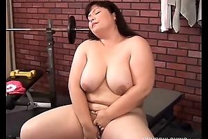 Beautiful big tits oriental BBW