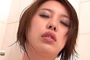 Korea beauty Masturbation in bathroom