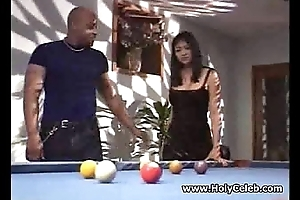 Huge titted Oriental whore nailed deathly hard coitus