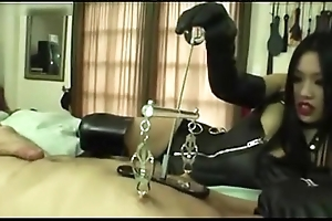 Oriental MILF - hot tugjob