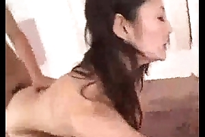 Hot Asian Slut Rides Hard