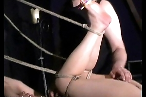 Japanese Bastinado plus Pussy Pain