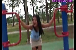 Asian-Teen-Playground-Fun