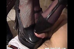 Shoejob - heeljob part1