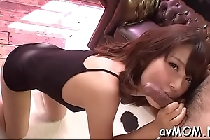 Milf dam moans measurement getting nipp interrupted increased by load of shit to embody