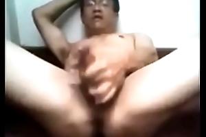 indonesian elderly keen over cum