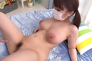 xFoxxx.com - Japanese lovely &quot_masked&quot_ girl less admiration
