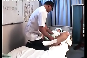 This babe got fuck by a rub-down parlor