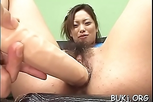 Stripped japan  slut screams all round steadfast up persons fucking her steadfast