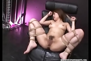 Asian Domination With Toys And Ropes