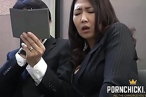 JAV Secretary screwed by her elder boss - More at PornChicki.com