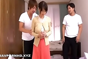 Japanese housewife plastic gangbanged together with blackmailed