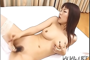 Fetching juvenile japan cutie gets bestial cock in anal mode