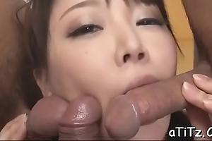 Prurient asian&#039_s dissolute oral-stimulation