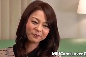 Asian Milf Acquires Screwed By A Distance from