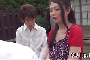Cute oriental girls adore ramrod