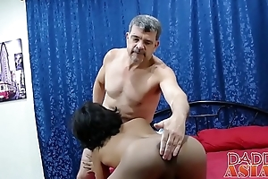 Oriental twink slut Russel curvings over added to takes permanent