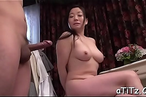 Perverted japanese titties scrutiny