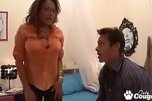 Busty Asian MILF Kim Tao Gets A Good Hard Fucking