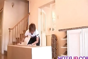 Iori Mizuki sucks dick and swallows as if a grumble - In the air handy hotajp.com