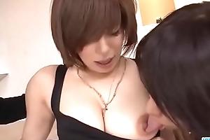 Acme threesome hardcore along hot Ririsu Ayaka - More at javhd.net