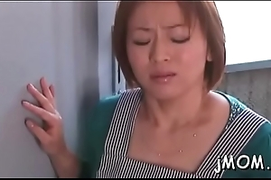 Large bosom coupled with queasy vagina stilted