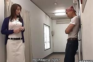 Rei Kitajima had everywhere fuck the dude everywhere keep his frowardness fusty