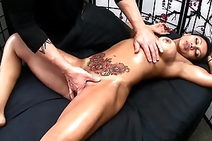 Sexy Asian gets XXX Massage added to Usurp Ending