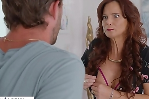 Mature mom with fat tits boned by her son's friend