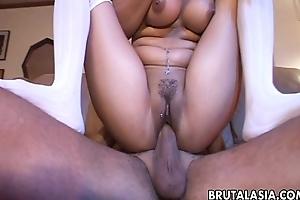 Wolf down tailed Annie Cruz has an anal fuck to enjoy