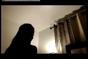 Asian Unfocused Webcam Fun