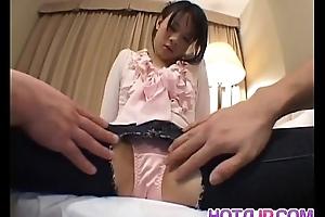 Yuki Hoshino moans fast while obtaining drilled