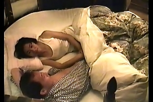 mature fit together elderly Japanese love with an increment of her big Daddy