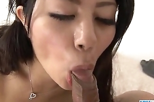 Japan maid Konatsu Hinata enjoys sex there hardcore